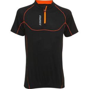 MAILLOT DE CYCLISME SCRAPPER T-Shirt Vélo Enfant Primo - Noir