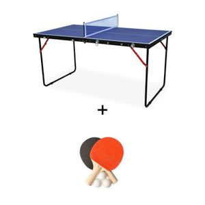 353b37747beb0 TABLE TENNIS DE TABLE Mini table de ping pong pliable INDOOR Sapporo ble ...
