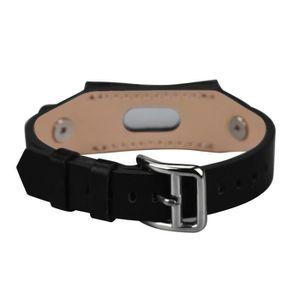 BRACELET DE MONTRE TZZ61129669BK®Bande de bracelet en cuir de remplac