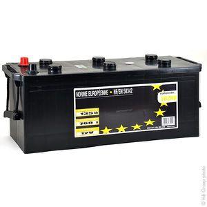 BATTERIE VÉHICULE Batterie camion P-Start 135-760/3 12V 135Ah +G - B