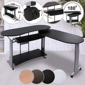 Meuble d 39 angle de bureau bureau d 39 angle noir achat vente meuble d - Bureau d angle modulable ...