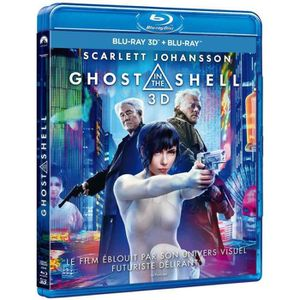 BLU-RAY FILM ghost in the shell blu ray 3d et 2d 2017