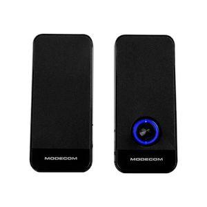 ENCEINTES ORDINATEUR MODECOM MC-XS6 Haut-parleurs pour PC 4 Watt