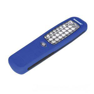 LAMPE DE POCHE SILVERLINE Lampe Torche magnétique - 24 LED - 210x