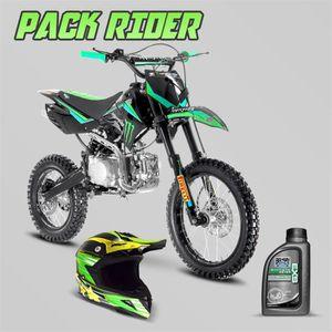MOTO Pack Rider - Dirt bike SX 150cc 14/17 Monster + Ca