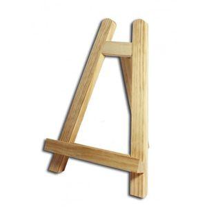 Support à décorer Mini chevalet en bois - 27 x 19 cm - AMT