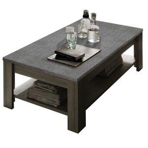 De Haute Qualite TABLE BASSE Table Basse Plateau Ardoise   ARDESIA   L 140 X L