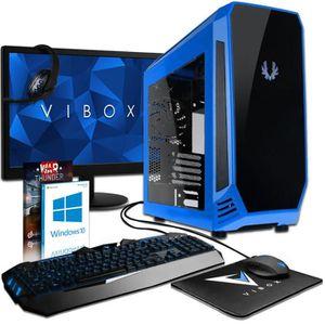 UNITÉ CENTRALE  VIBOX Cetus Pack 73 PC Gamer - Intel 4-Core, GTX 1