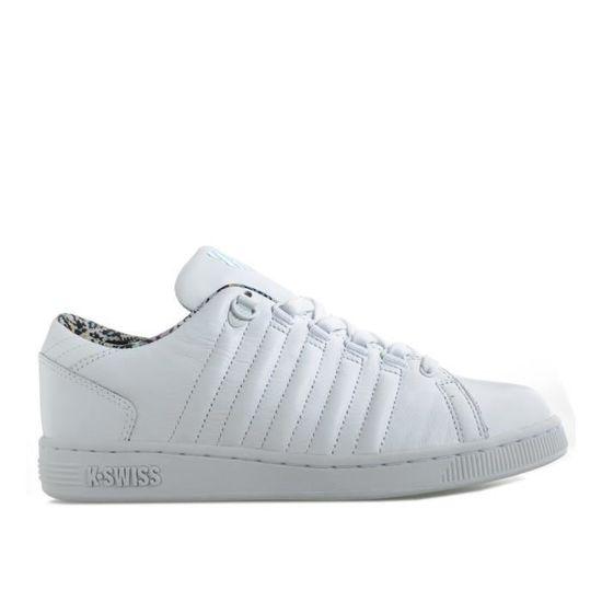 Baskets K-Swiss Lozan III TT Liberty pour homme en blanc. Blanc Blanc - Achat / Vente basket
