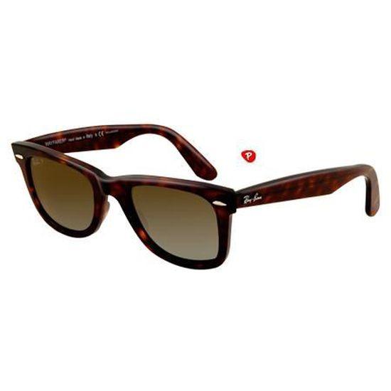 c674d4ea40b1cd Ray-ban original wayfarer rb 2140 902 57 havana… - Achat   Vente lunettes  de soleil Mixte - Soldes  dès le 9 janvier ! Cdiscount
