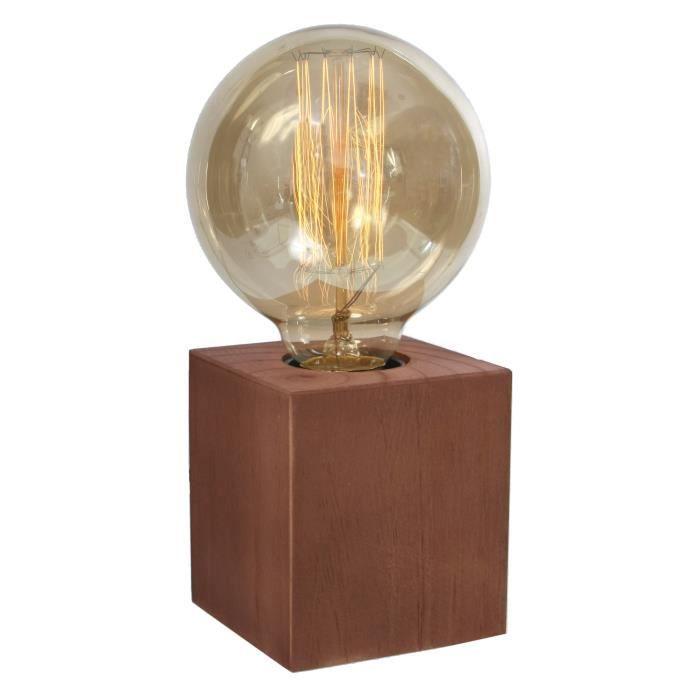 lampe a poser sans abat jour