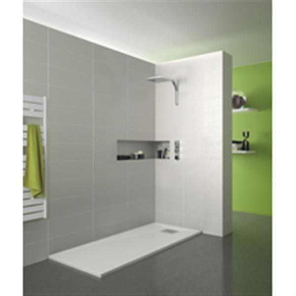 kinedo douche receveur kinesurf bpc 160x80 blanc r f rd616. Black Bedroom Furniture Sets. Home Design Ideas