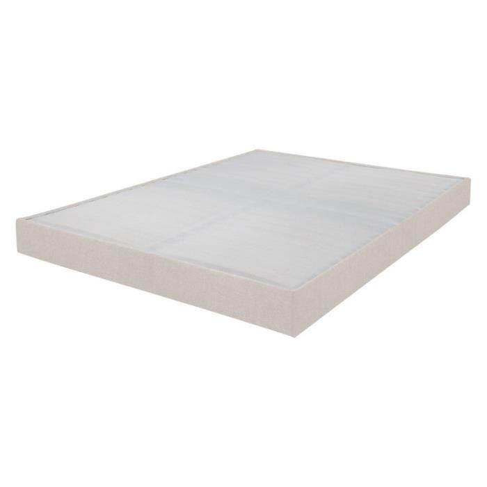 SOMMIER Sommier tapissier 160x200 Omega lin 2x17 lattes