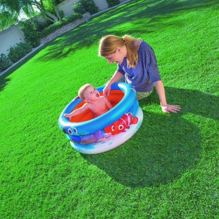 Nemo piscine gonflable enfant 3 boudins pour b b - Piscine bebe gonflable ...