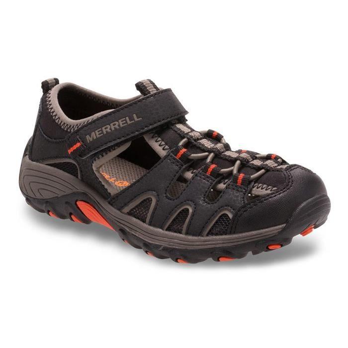 Sandales Merrell Hydro H2O Hiker Sandal noir orange enfant