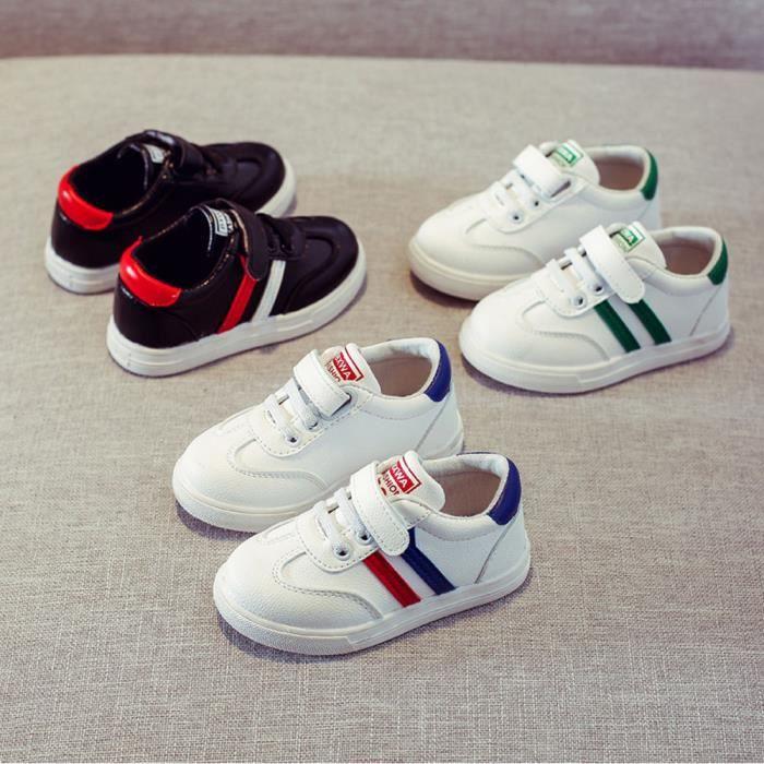 Lavieni ®Enfants Mode Sneaker Garçon Filles Casual En Cuir Courir Chaussures de Sport LMH71222555 NwtIDVxD