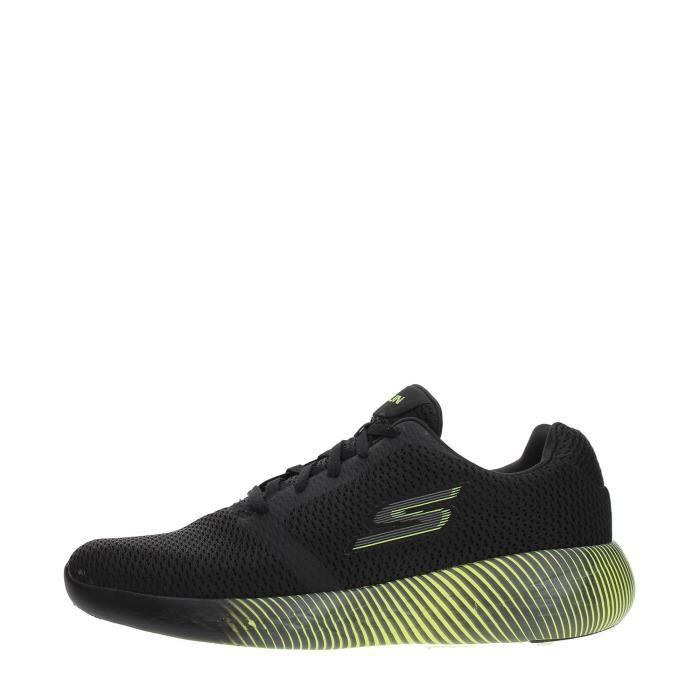 LIME SKECHERS Sneakers BLACK 43 Homme awOT4