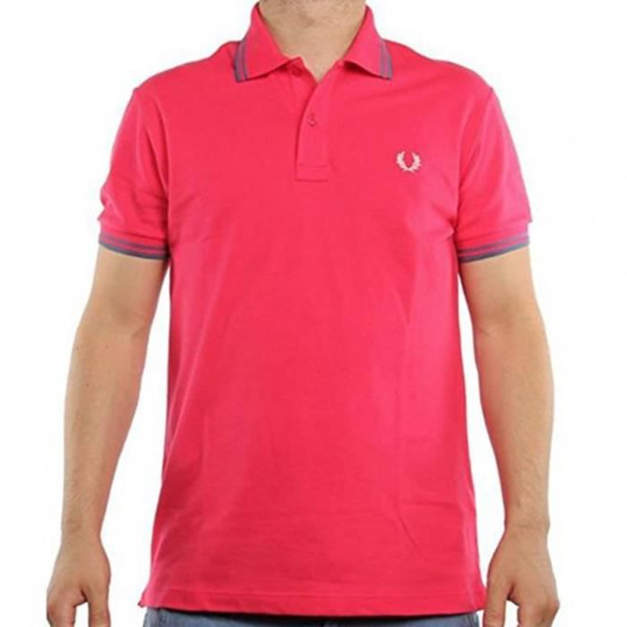 Soldes Rose D Homme Wxnok8np0 Vente Polo Fred Achat Perry pSUzqGVM