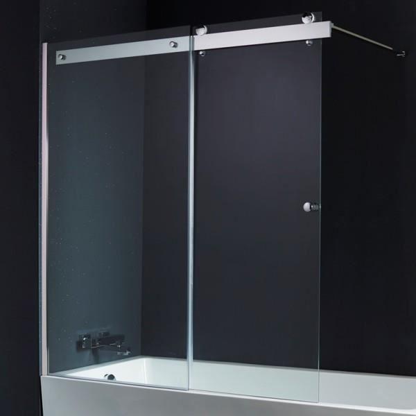 pare baignoire coulissants 140 150 cm achat vente. Black Bedroom Furniture Sets. Home Design Ideas