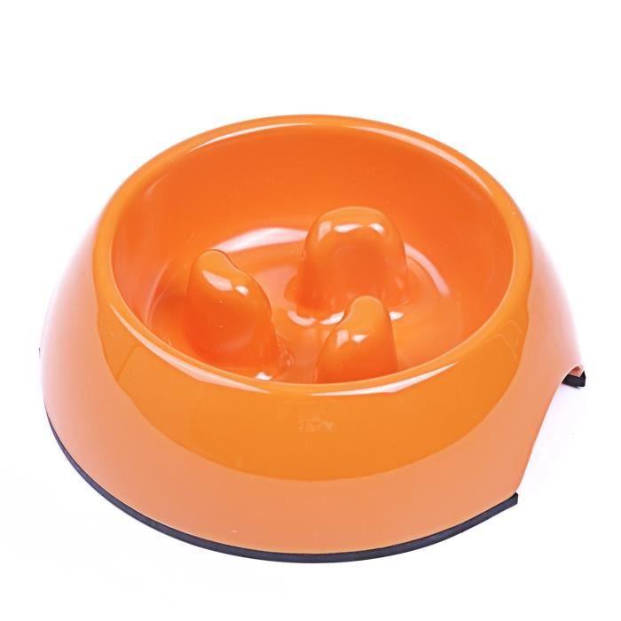 Superdesign Gamelle D'alimentation Lente En Melamine Pour Chien/chat