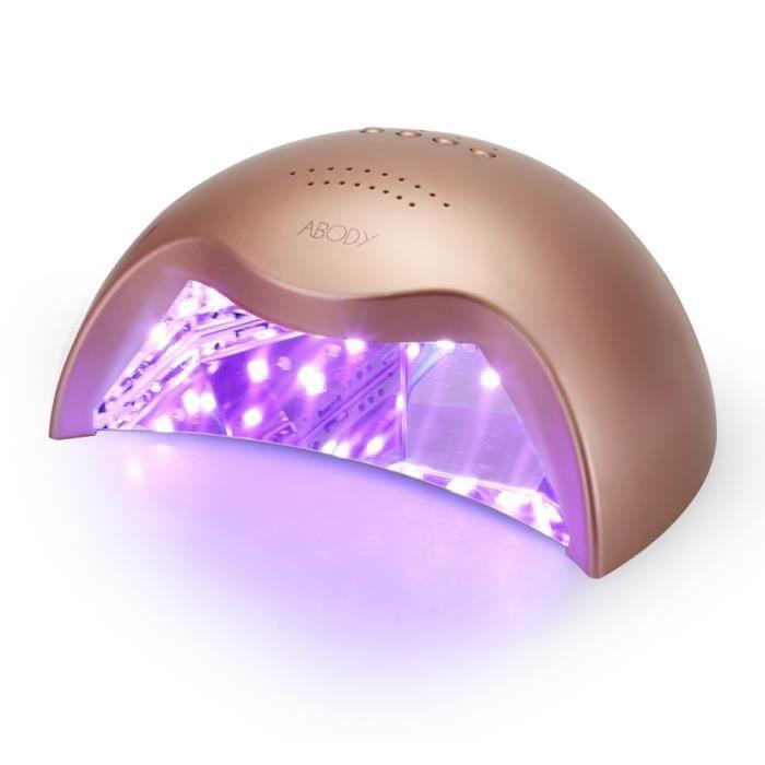 Sèche ongles UV Lampe LED Séchoir à Ongles Professionnel avec un ...