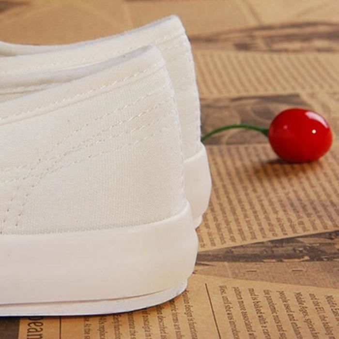 Respirant Chaussures Sneakers Sport Occasionnels Femme De Blanc YRxzqCRZw