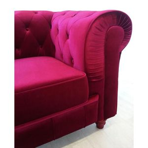 Canape chesterfield violet - Achat / Vente Canape chesterfield ...