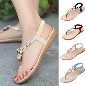 XZ701A4XZ701A4Femmes Sandales Tong T Strappy Flat Slingback Chaussures de plage Owl Casual Slipper nxWRF