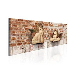 TABLEAU - TOILE Tableau Repos Des Anges - Dimension - 135x45.