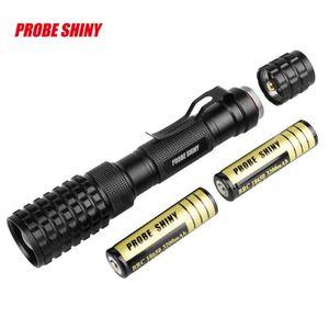 LAMPE DE POCHE WDD70606284@Police tactique 12000LM Zoom XM-L T6 L