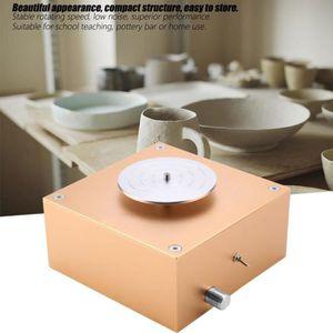 LIVRE ARTISANAT Argile 12v 1500rpm faisant la machine de poterie e