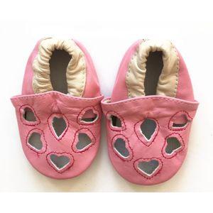 Chaussons ENFANT Cuir Souple 6-12 mois elephant OJ7ynSXRt