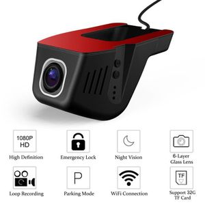BOITE NOIRE VIDÉO FHD 1080P WiFi Caméra embarquée enregistreur voitu