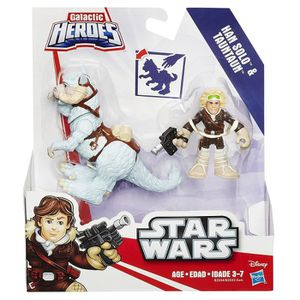 FIGURINE - PERSONNAGE Disney Star Wars Galactic Heroes Han Solo Mini Fig