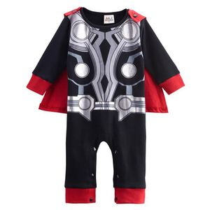 Ensemble de vêtements Vêtements de bébé Garçon Thor Grenouillères Super