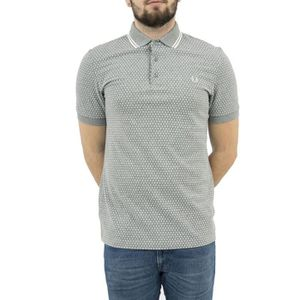 POLO polos fred perry m3554 gris
