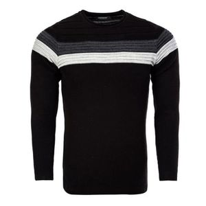 PULL Pull homme fashion Pull 7558 noir