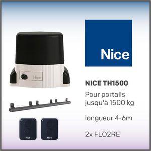 PORTE DE GARAGE Nice TH1500KIT pour portails coulissants pesant ju