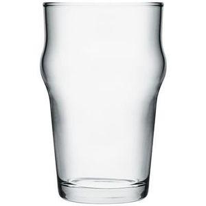 Verre à bière - Cidre Chope à bière forme haute 28 cl Nonik Trempé - Pas