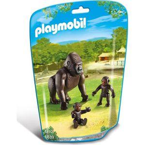 FIGURINE - PERSONNAGE PLAYMOBIL 6639 Gorille avec bébés