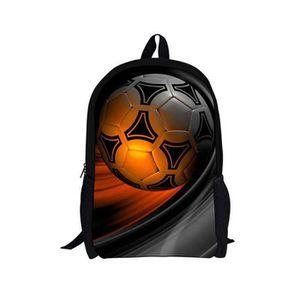 VALISE - BAGAGE 3D football Sac à Dos Cartable Scolaire pour Enfan 4670409c8e0