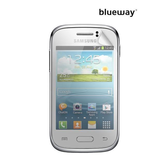 BIGBEN Lot 2 protèges-écran One Touch pour Samsung Galaxy Fame S6810 - Transparent