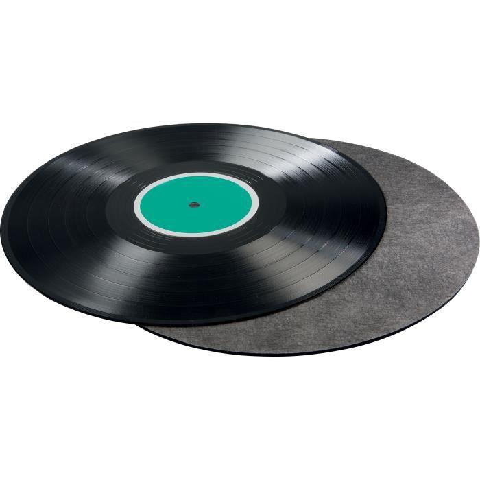 HAMA 00181450 Couvre-plateau Platine vinyle - Carbonne