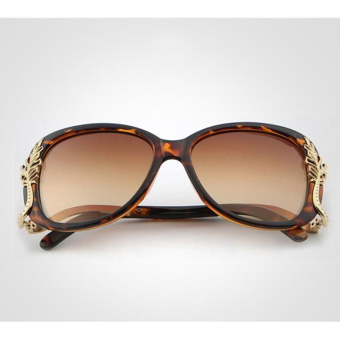 Lunettes de soleil Femme Mode lunettes polarisées UV400 A50 Twilight