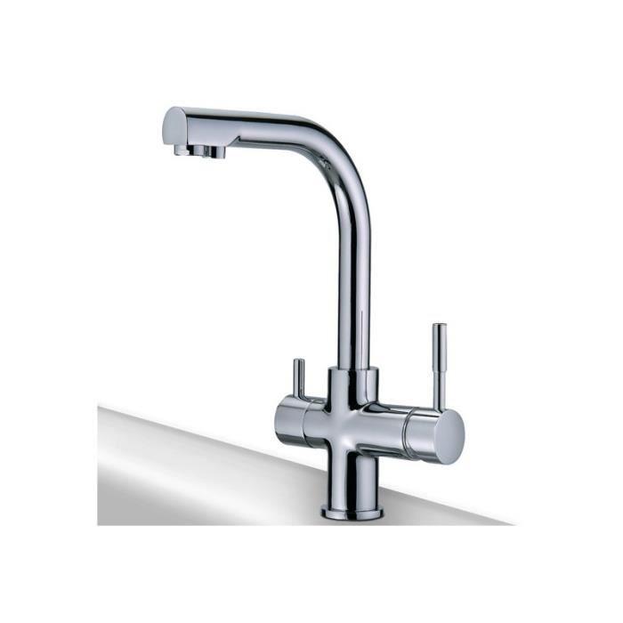robinet de cuisine rotatif 3 voies mitigeur lavabo vier. Black Bedroom Furniture Sets. Home Design Ideas