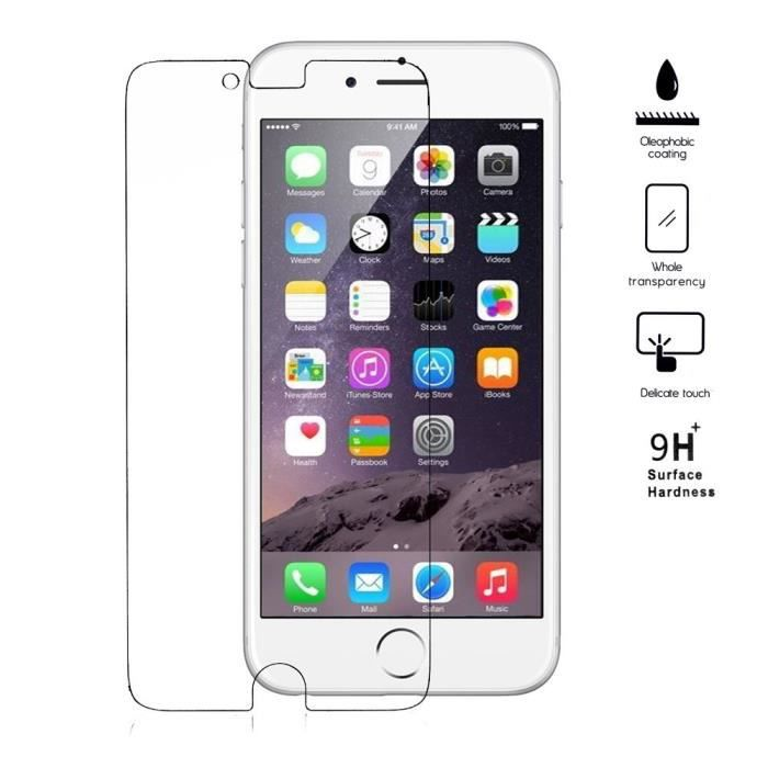 Vitre verre trempe iphone 6 plus achat vente vitre for Verre trempe iphone 6s