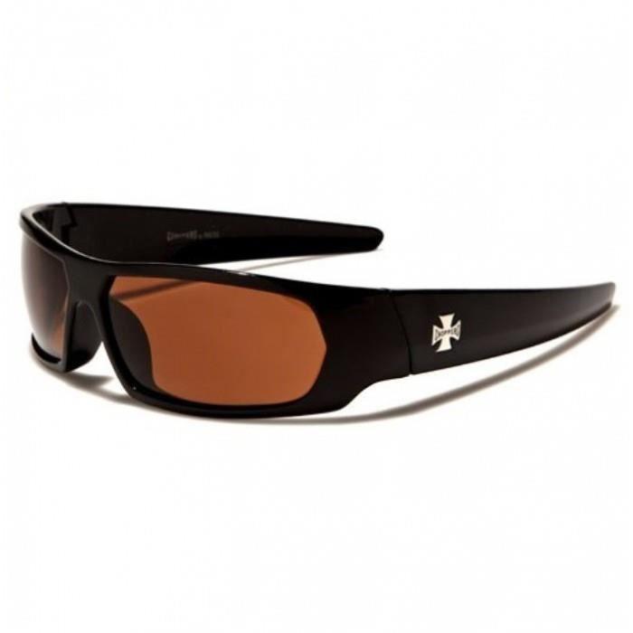 hotrodspirit - lunette de soleil style retro 50 s noire verre vert homme 0XzkZ