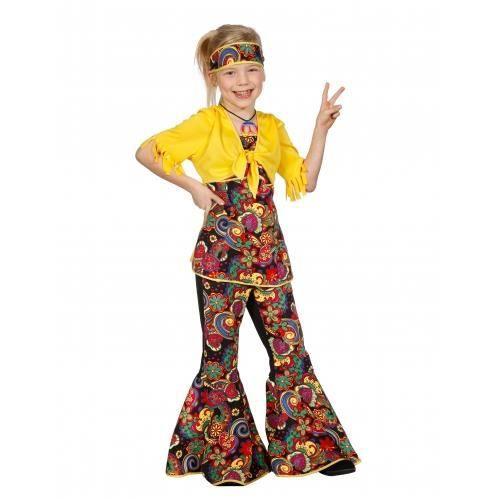 Déguisement disco hippie fille - Achat   Vente accessoire ... 5d501e54776