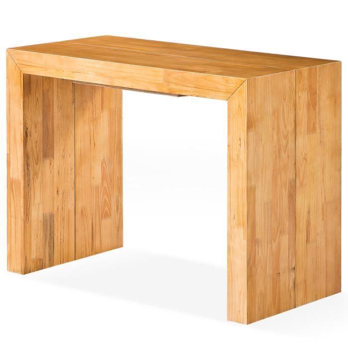 Achat Xl Table Chêne Vente Console Woodini Clair uXwOiTkZP