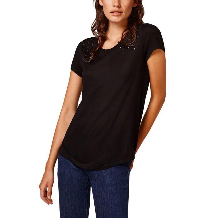 Esprit 001 088eo1k026 Femme Noir Slides xwCPqS